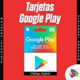 Tarjeta Google Play Store De 10 A Solo 11.50$, Envío Digital