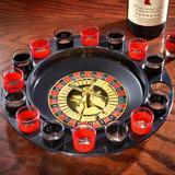 Ruleta Shots Tragos Drinking 16 Vasos 30cm 2bolas