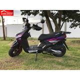 Moto Galardi Gl180bwgiulieta Año 2018180cc Negro/plata/rojo