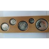 Excelente Estado Proof! Set De Monedas De España 1989 -plata