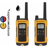 Motorola Radios T402 56km Walkie Talkie Recargabl Resis Agua