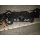 Nintendo 64 + Cable + Adaptador + Fuente + N64 + Partes +pz