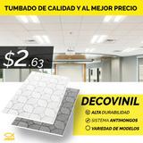 Decovinil Gypsum Blanco Lavable Para Tumbados, Cielo Falso