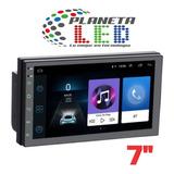 Radio Doble Din Android 9.1 Pantalla Bluetooth Gps Mp5 Mp3+c