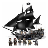 Set Para Armar Piratas Del Caribe Perla Negra Tipo Lego