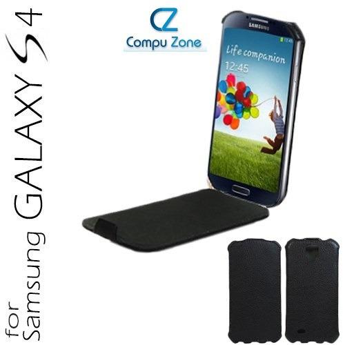 Estuche Rigido De Cuero Vertical Samsung Galaxy S4 Gt-i9500