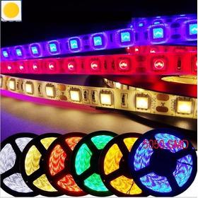 Cinta Rollo Tira Led Un Color 5m 5050  Profesional 12v Y 24v
