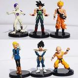 Dragon Ball Z Set X6 Figuras Gokuvegeta Androide  18
