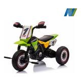 Triciclo A Batería Para Niños, Promoción , Grande Verde