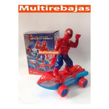 Juguete Spider-man Con Sonido Y Movimiento