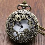 Reloj Collar Coleccionable Engranajes Steampunk