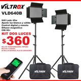 Kit Luz Continua Led Para Video Y Foto 640led Viltrox