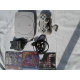 Playstation One +cd Con 100 Juegos Nes En Play Station