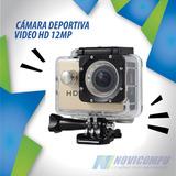 Sports Cam 1,5 Pulg Lcd Camara Sport  8 Accesorios Gratis