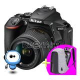 Nikon D5600 24.2mp Touch G R A T I S Tripode + Maleta + 12gb
