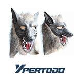 Mascara De Hombre Lobo Halloween Bromas Prank
