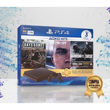 Ps4 Play Station 4 Slim 1 Tb / 3 Juegos