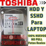 Disco Duro Para Laptop 500gb 1tb Toshiba Wd Normal E Híbrido