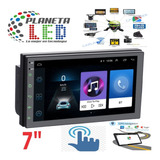 Radio Doble Din Android 9.1 Pantalla Bluetooth Gps Mp5 Mp3