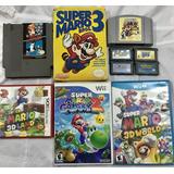 Colección Juegos Mario Nintendo Gameboy Wii