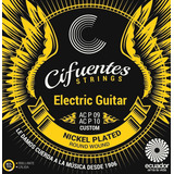Cuerdas Guitarra Eléctrica Nickel Plated Cifuentes Strings