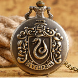 Collar Reloj De Slytherin - Harry Potter