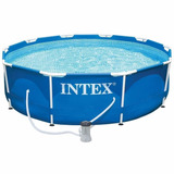 Piscina Intex Armable 366x76cm Red. 28711