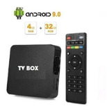 Tv Box 4k Potente 4gb Ram + 64gb Rom Sistema Android 9.0