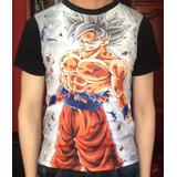 Camiseta Album Dragon Ball Super Goku Juguete Muñecos Figura