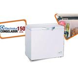 Congelador De Aluminio Dual 150 Litros Electrolux Inc. Iva