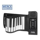 Piano Electrónico Flexible 61 Teclas 128 Tonos Enrollable