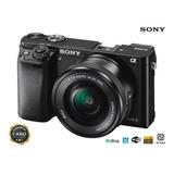 Camara Sony A6000 24,3mp Nuevas De Paquete +selp1650