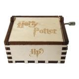 Caja Musical De Harry Potter Color Blanco De Colección