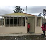 Vendo Casa En Sector Alobamba Con Amplio Terreno Y Bodega