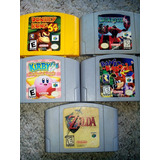 Nintendo 64 Donkey Zelda Kirby Starfox Banjo
