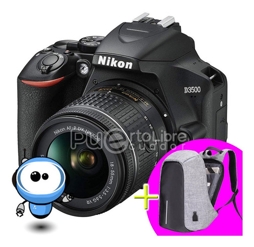 Nikon D3500 24.2mp + G R A T I S + Maleta + Tripode + 128gb