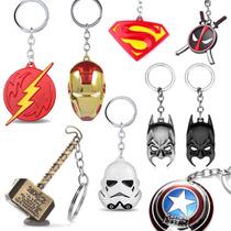 Llaveros Superheroe Thor Martillo Batman Star Wars Varios