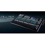 Consola Digital Qu32, Estudio Profesional  Allen & Heath