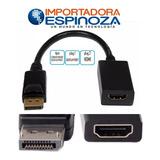 Cable Adaptador Convertidor Dp Display Port A Hdmi Mac