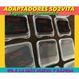 Adaptadores Sd2vita Psvita Para Juegos Y Usar Micro Sd