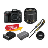 Camara Profesional Nikon D7500 Lente 18-55wifi 4k Uhd