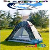Carpa Tienda  Camping Para 4 Personas Impermeable+obsequio*
