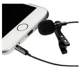 Micrófono Corbata Corbatero Celular Cable Omnidireccional