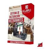 Software Sitema De Facturación Para Restaurantes Illarli Exp