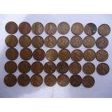 Colección De 39 Monedas  De Un Centavo  Desde 1916 A 1958