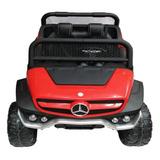 Carro A Bateria Montable Unimog Mercedes Benz  4 Motores