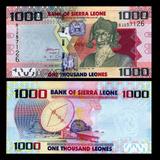 Sierra Leone Billete De Coleccion 1000 Leones Nuevo 2010
