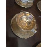 Vajilla Antigua Alemana Pan De Oro Bavaria Y Oscar Unica