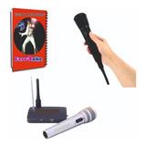 Karaoke Profesional 7200 Temas + Micrófono Inalambrico Lista