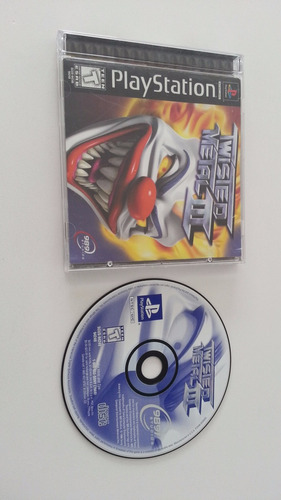 Twisted Metal 3 Ps1 Con Manuales Y Estuche Original